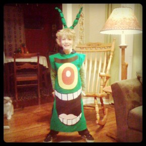 Plankton Costume