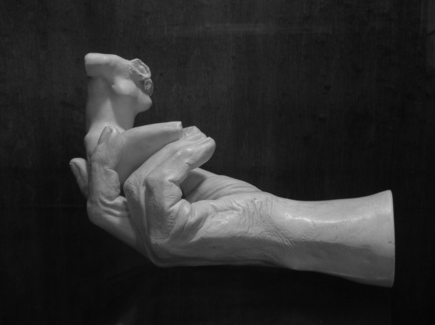 Hand of Rodin Holding a Torso
