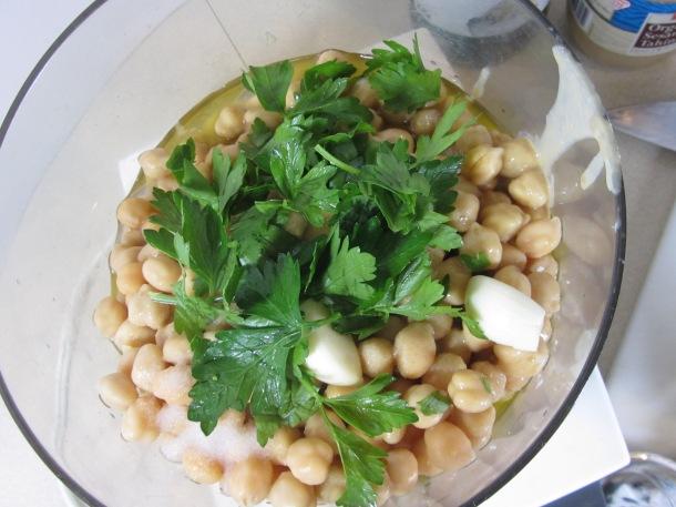 mix in cuisinart