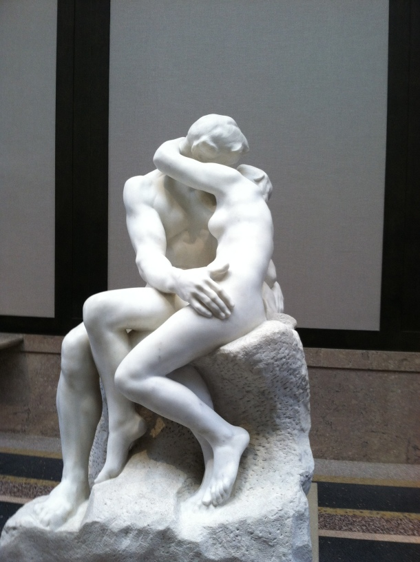The Kiss (a copy)