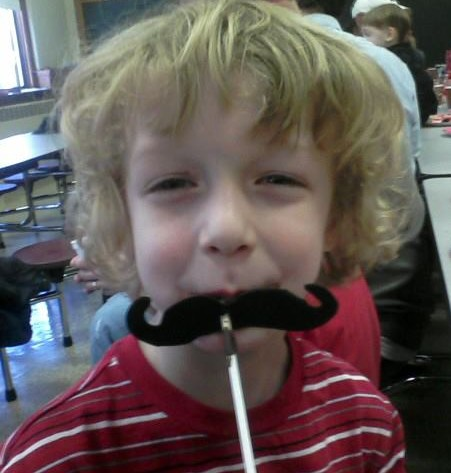 william mustache