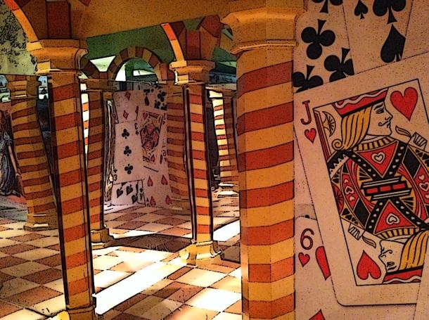 Maze in Alice in Wonderland
