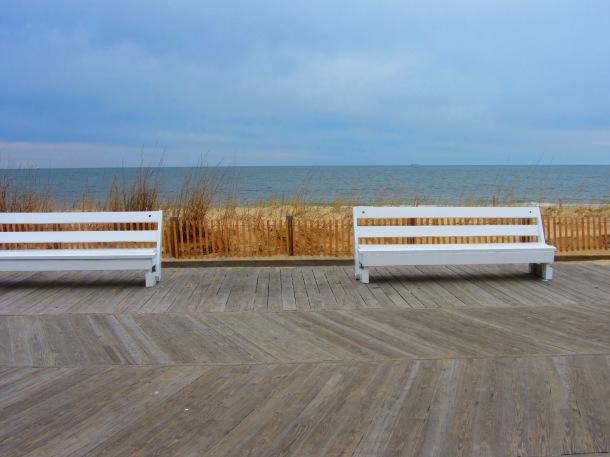 boardwalk benches