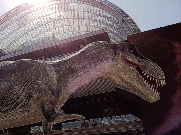 T-Rex at the Kimmel Center