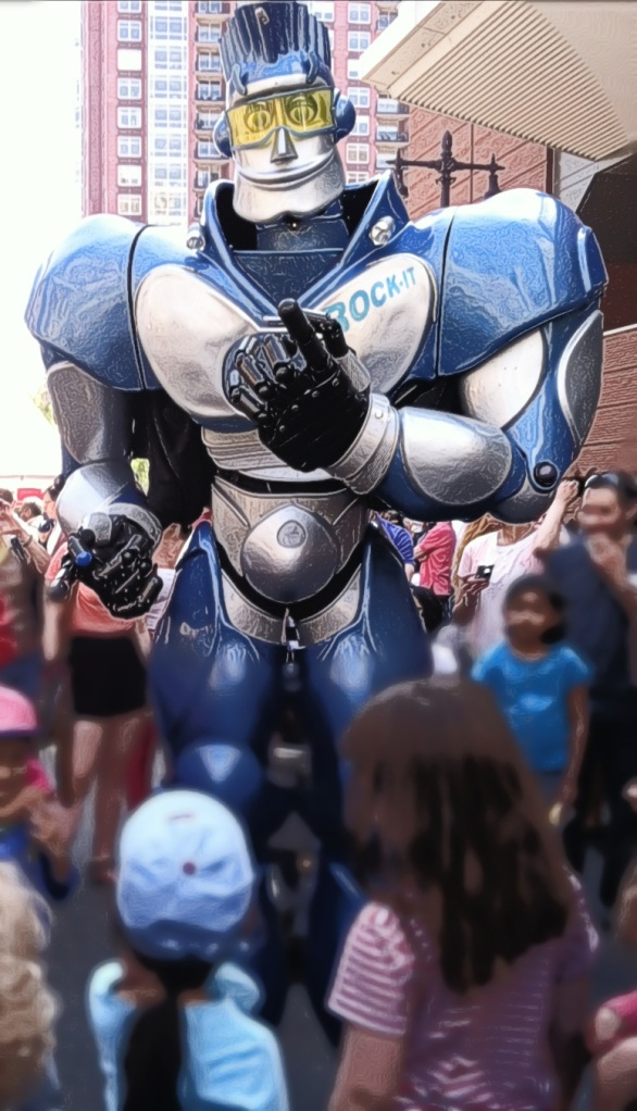 Rock-It the Robot
