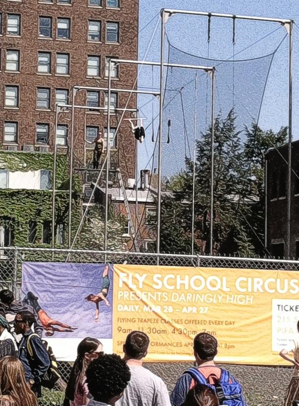 Trapeze Flyer