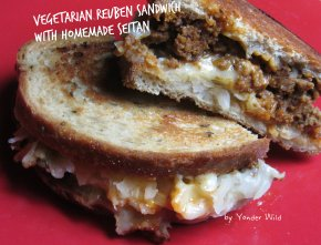 Vegetarian Reuben Sandwiches with Homemade Seitan