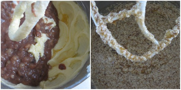butter and banana mixes