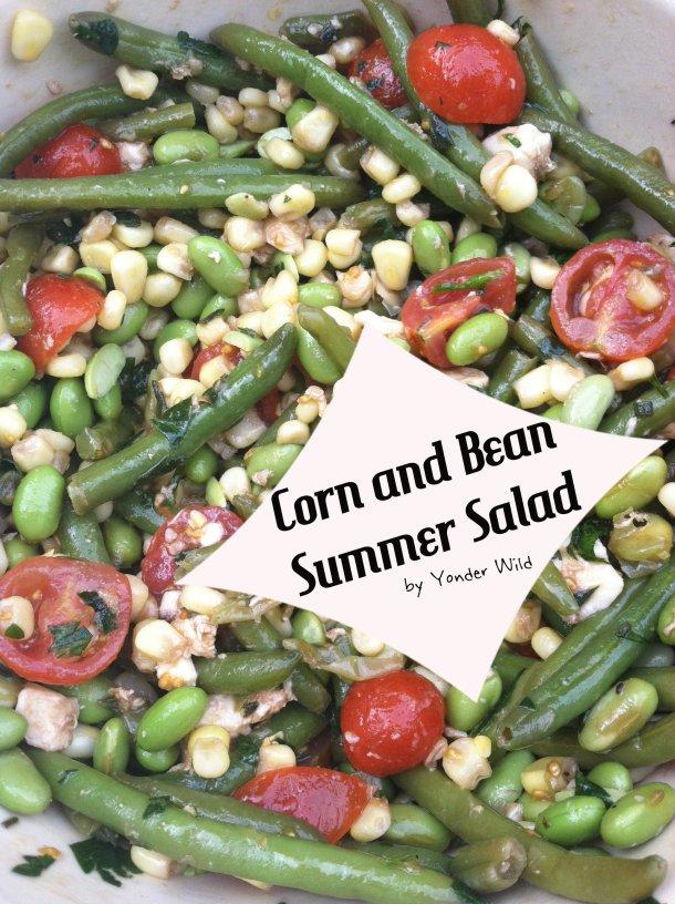 Corn and Bean Summer Salad
