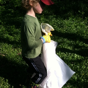 Neighborhood Creek Clean Up – An Earth Day Activity for the WholeFamily