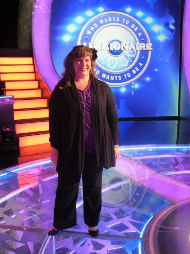On the Set of Who Wants to Be a Millionaire