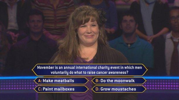 Millionaire Mustache Question
