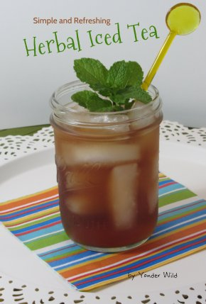 Simple and Refreshing Herbal Iced Tea