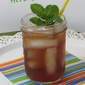 Simple and Refreshing Herbal IcedTea