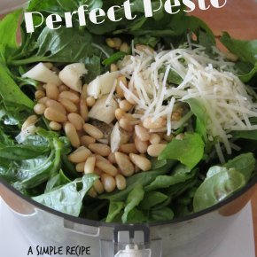 Perfect Pesto – a Simple Recipe and Storage Idea for Use All Year Long
