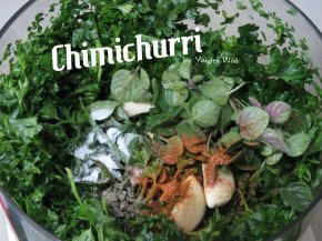 Chimichurri – a Parsley Sauce with a Kick