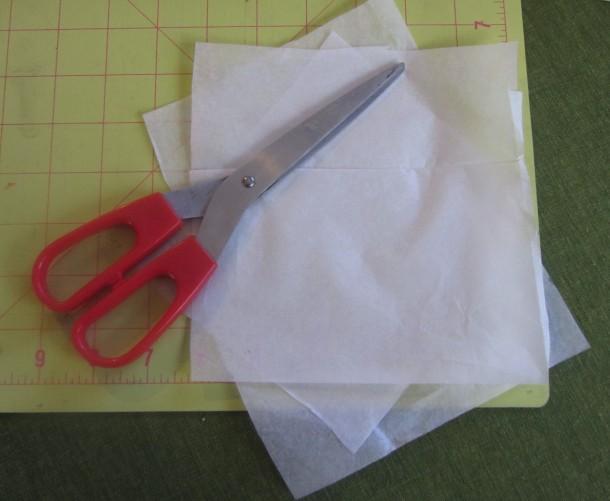 cut tissue paper