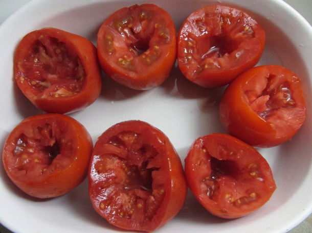core the tomatoes