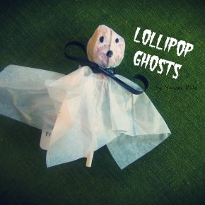 Lollipop Ghosts – a Boo-tiful Halloween Treat