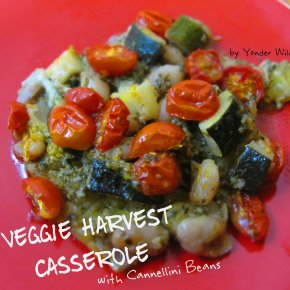 Veggie Harvest Casserole (with Cannellini Beans)