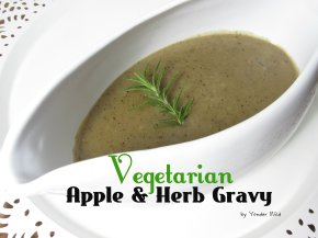 Vegetarian Apple & Herb Gravy