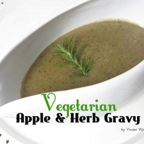 Vegetarian Apple & HerbGravy