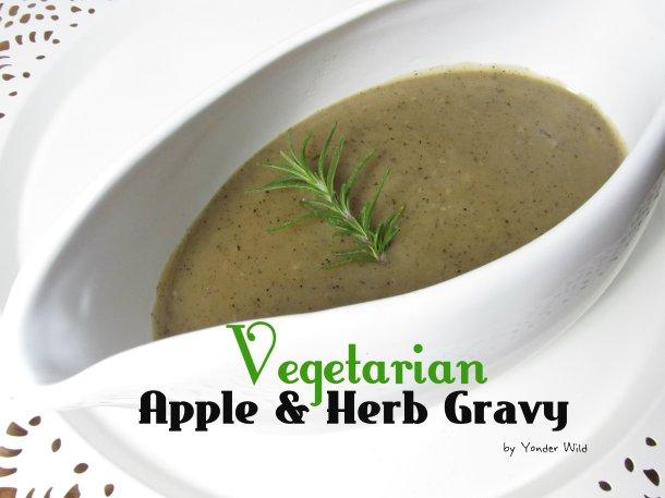 Apple & Herb Gravy