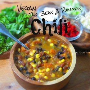 Vegan Two Bean and PumpkinChili