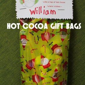 Hot Cocoa GiftBags