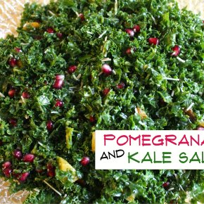 Pomegranate and Kale Salad